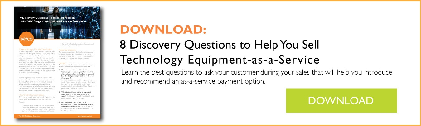 Download How to Buy Questions to Introduce Technology as a Service