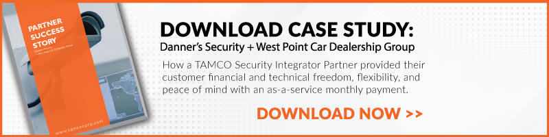 Download PDF of Danners Case Study on Security as a Service Sales