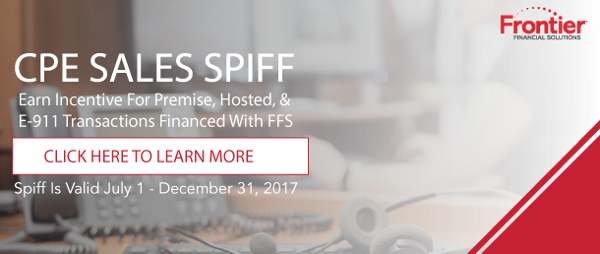 Earn added incentive with CPE Sales Spiff