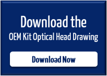 Fiber Laser OEM Kit Optical Head Drawing