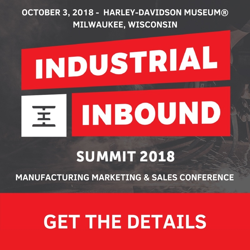Get Tickets to the Industrial Inbound Summit 2018