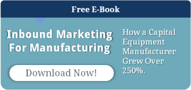 marketing for manufacturing