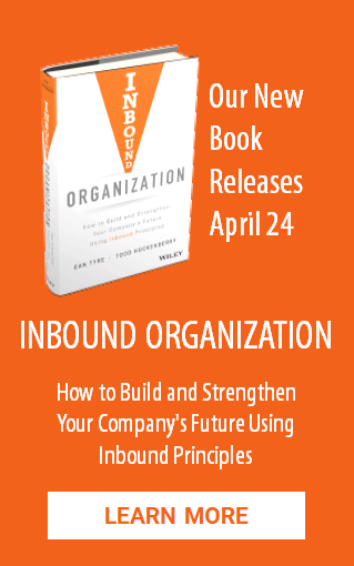 Learn More about the new book Inbound Organization