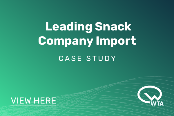 Leading Snack Company Import - WTA