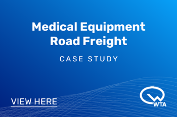 WTA Medical Equipment Road Freight Case Study