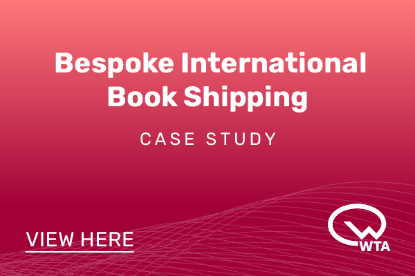 Bespoke International Book Shipping Case Study - WTA