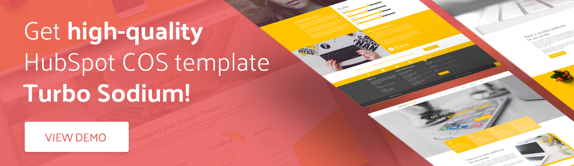 Get high-quality HubSpot COS template