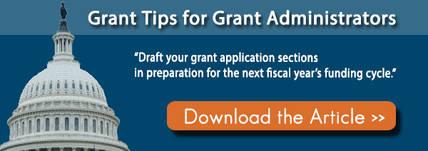 Grant Tips for Grant Administrators