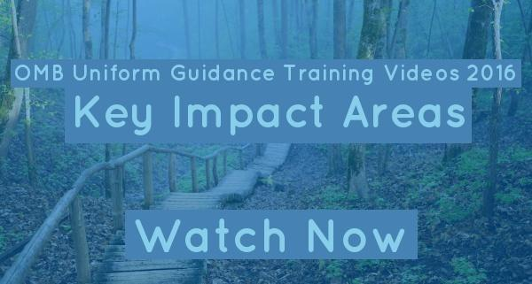 OMB Training Video 2016 Key Impact Areas