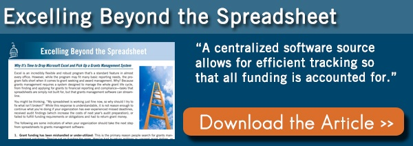 Grants Management System Beyond Spreadsheets