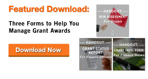 Grant Finance Forms 3-in-1 download