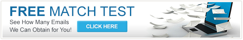 Free Match Test - See How Many Emails We Can Obtain for You!