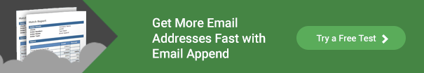 Get more emails addresses with Email Append