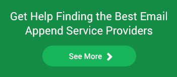 get help finding the best email append service providers