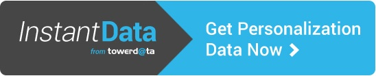 Get Personalization Data Now with InstantData