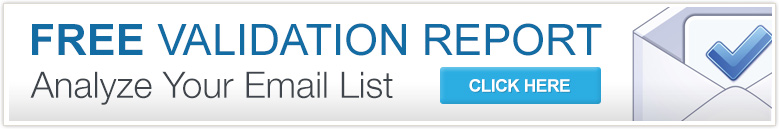 Free Validation Report - Analyze Your Email List