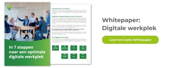Gratis Whitepaper Digitale Werkplek
