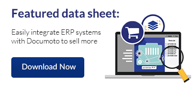 Data Sheet - Easily integrate ERP systems with Documoto