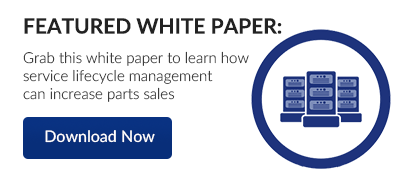 White Paper - Increase parts sales with Service Lifecycle Management