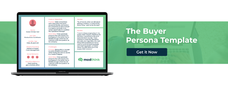 Download the buyer persona template