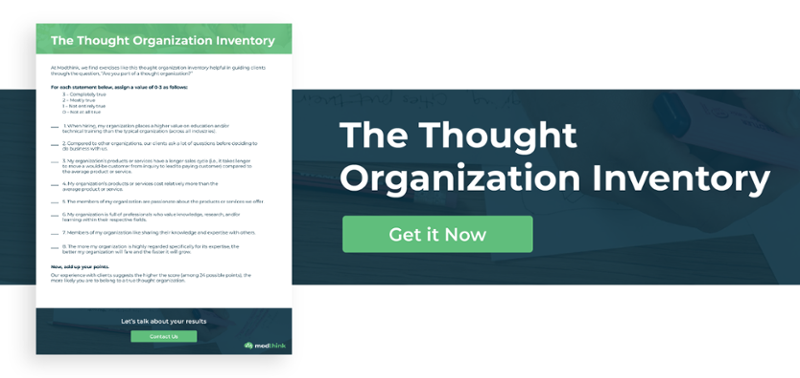 The Thought Organization Inventory