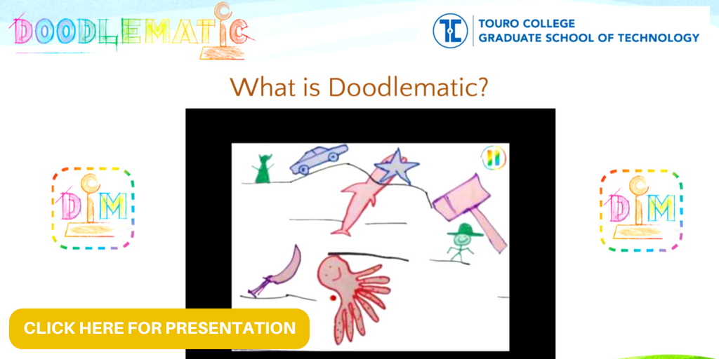DoodleMatic Game Design Presentation Touro College's Graduate School of Technology