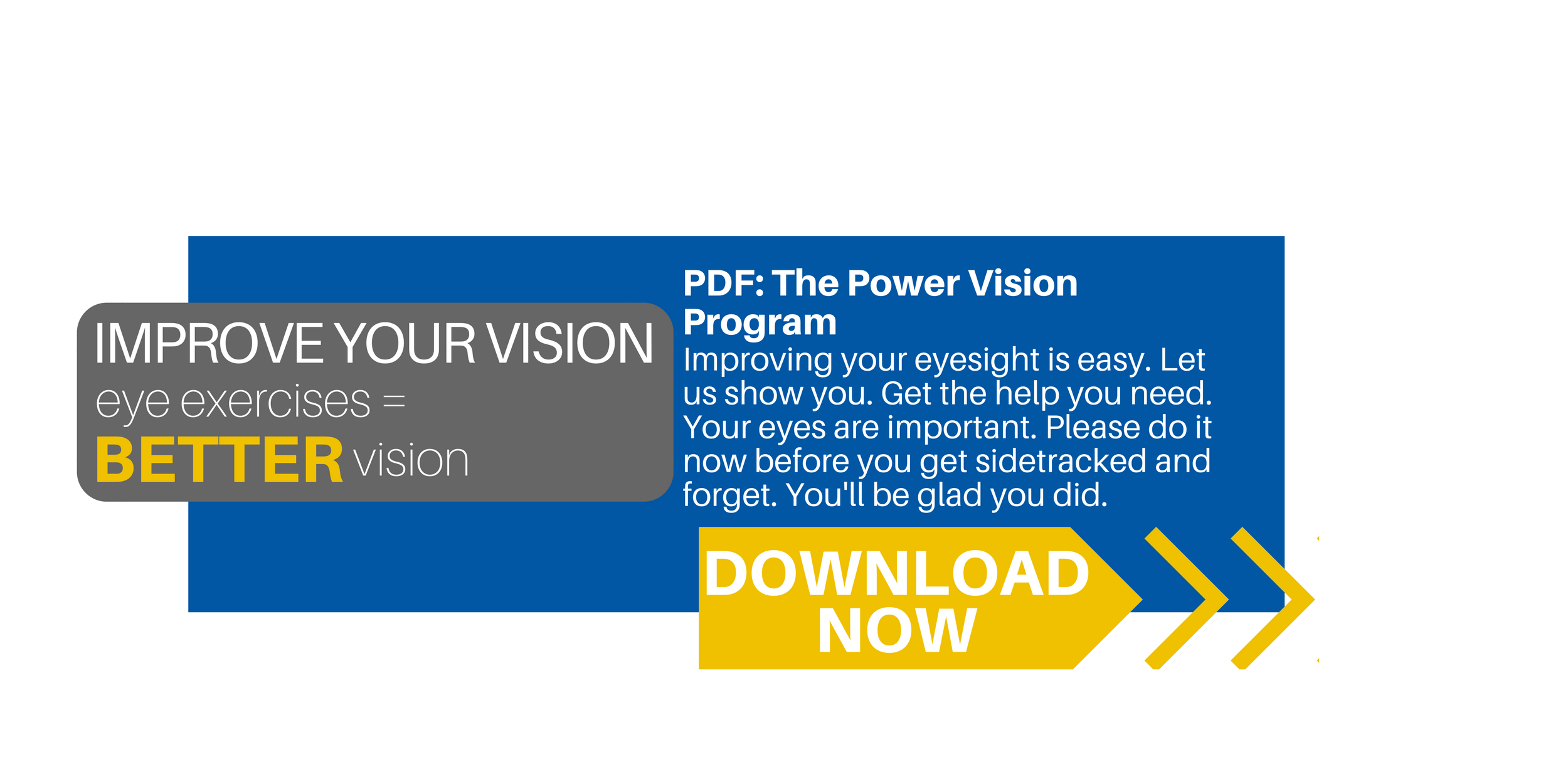 Improve Your Vision Power Program