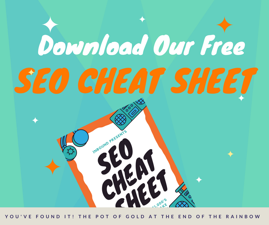 SEO Cheat Sheet
