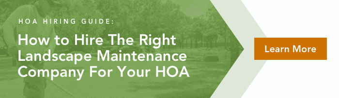 Read our HOA Landscape Maintenance Hiring Guide