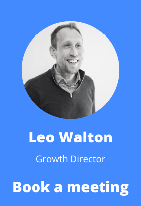 book a meeting with Leo Walton