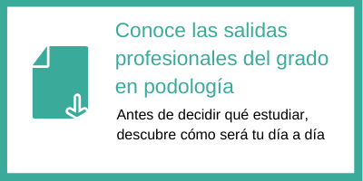 salidas profesionales para podólogos