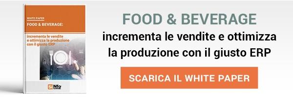 White Paper - Food & Beverage: incrementa le vendite e ottimizza la produzione con il giusto ERP