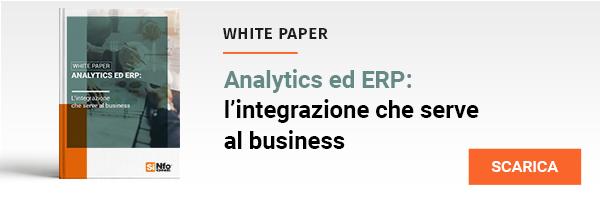 """White Paper """" Analytics ed ERP: l'integrazione che serve al business"""""""