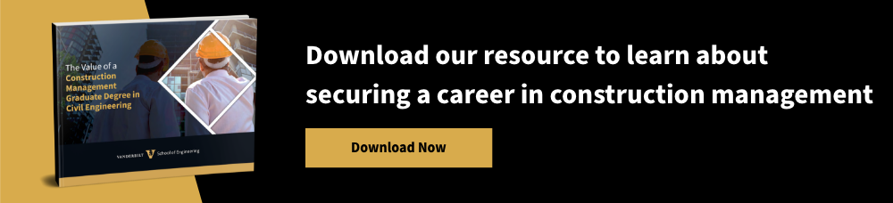 Download our resource to learn about securing a career in construction management - Download Now