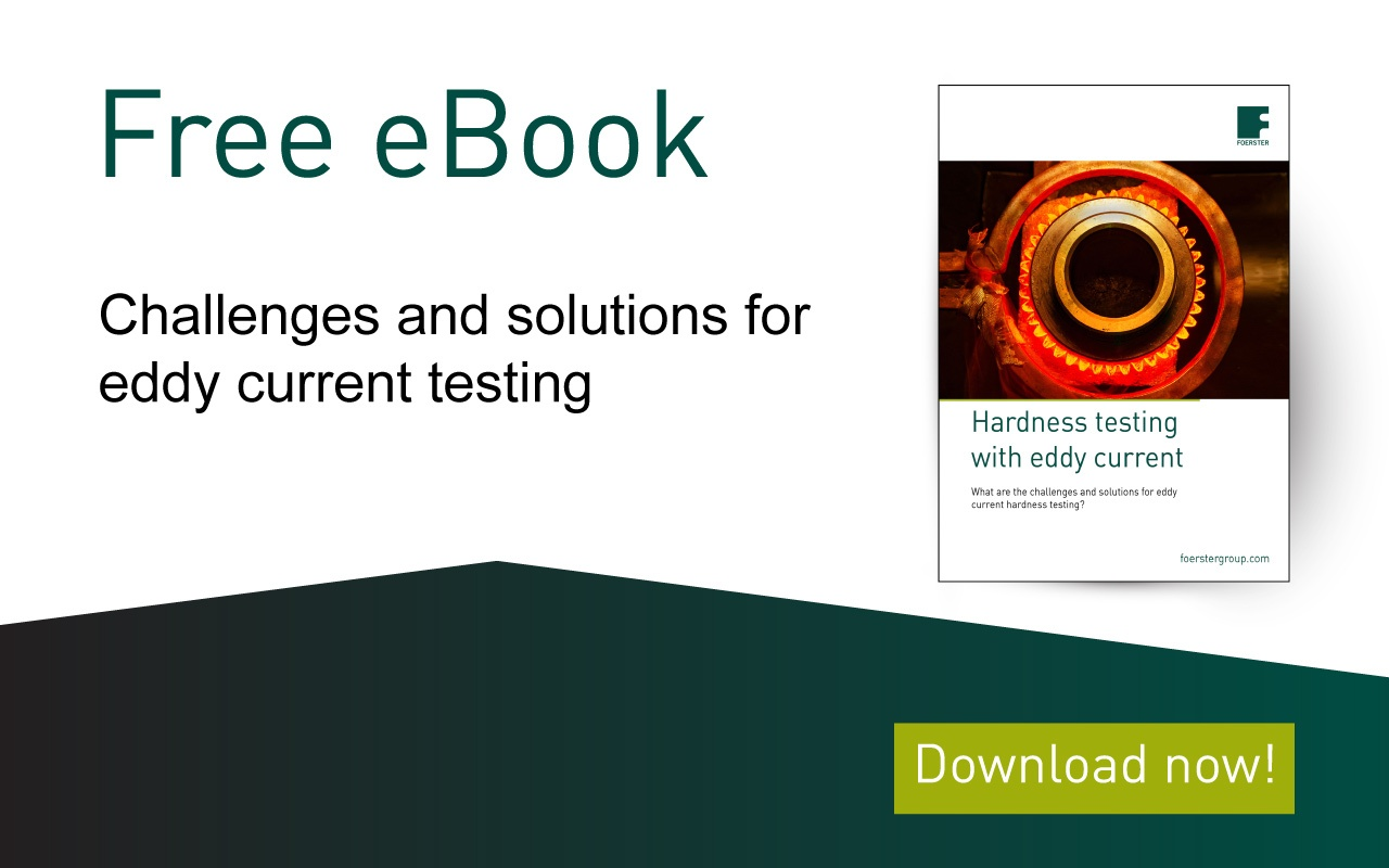 Free eBook about challenges for eddy current testing