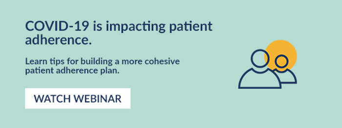 COVID-19 is impacting patient adherence. Learn tips for building a more cohesive patient adherence plan. Watch webinar.