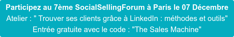 Code Invitation Social Selling Forum