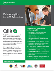 Data Analytics for K-12