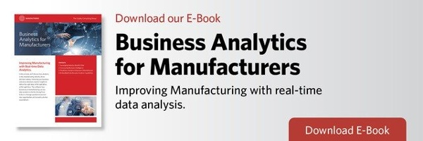 Business Analytics for Manufacturers | The Copley Consulting Group