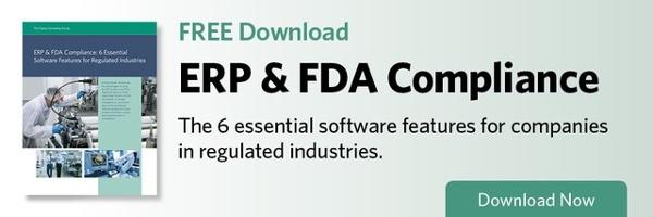 ERP & FDA Compliance