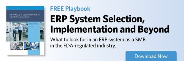 ERP System Selection, implementation and Beyond