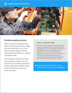 Infor CloudSuite Field Service