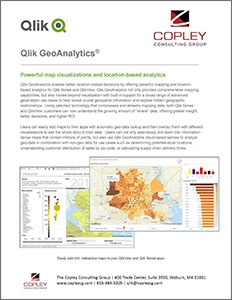 Qlik GeoAnalytics Data Sheet