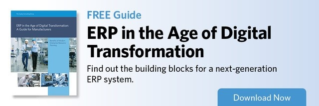 ERP in the Age of Digital Transformation: A Guide for Manufacturers  Download E-Book