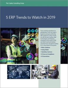 ERP Trends for 2019