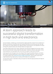 High Tech & Electronics Brief | Copley Consulting Group