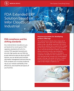 Infor CloudSuite Industrial for Life Sciences