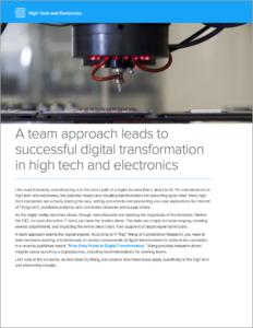 Whitepaper: High Tech & Electronics