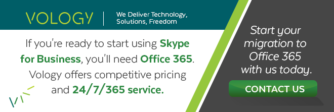 Contact Vology to start your migration to Office 365 today.