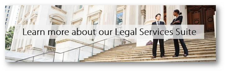 Learn more about our Legal Services Suite